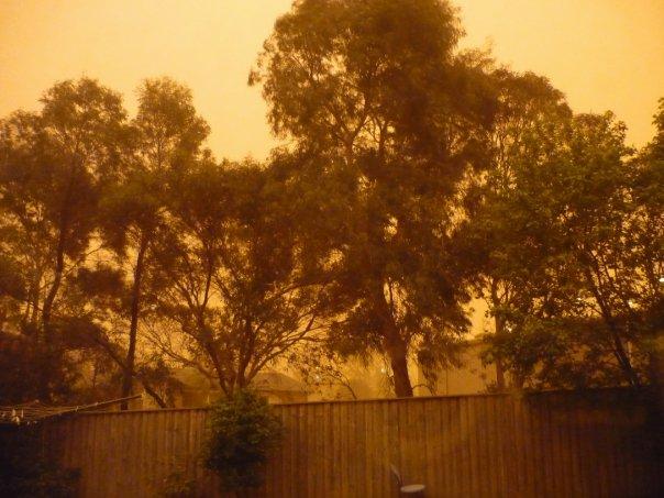 Sydney Turns Red