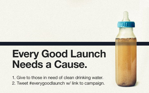 Every Good Launch Needs a Cause