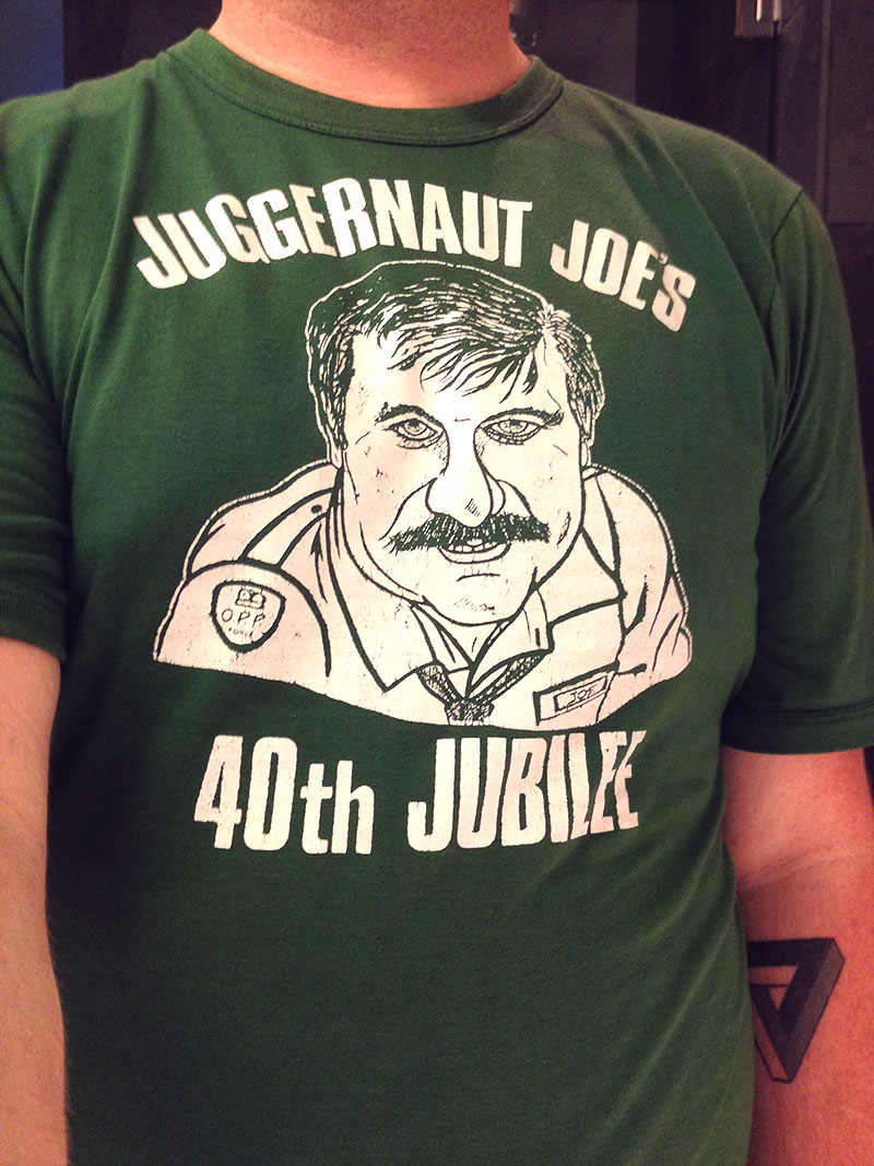 Jaugernaut Joe's 40th Jubilee