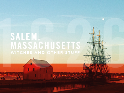 Postttcard from Salem, Massachusetts