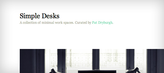 Simple Desks